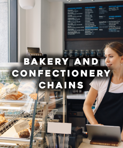 Bakery and confectionery chains
